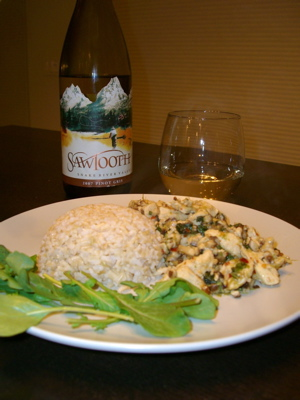 Sawtooth Winery 2007 Pinot Gris