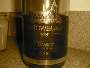 Horton Vineyards The Tower Series 2006 Viognier