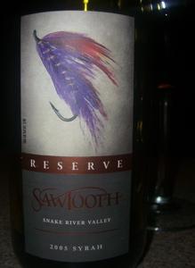 Sawtooth 2005 Reserve Syrah
