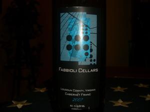 Fabbioli Cellars 2007 Cabernet Franc