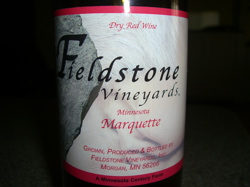 Fieldstone Vineyards Marquette