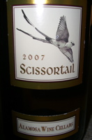 2007 Scissortail Alamosa Wine Cellars