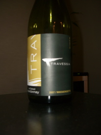 Travessia 2007 UnOaked Chardonnay, Massachusetts