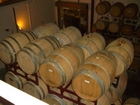 Prince Michel Vineyard and Winery Barrel Cave