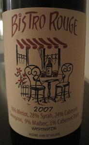 Pend d'Oreille 2007 Bistro Rouge