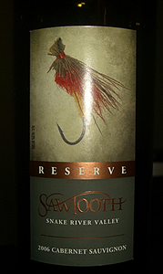 2006 Sawtooth Reserve Cabernet Sauvignon