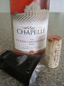 Ste Chapelle 2006 Ice Wine Cabernet Franc