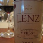 Lenz 2001 Estate Merlot