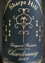 Sharpe Hill Vineyards 2007 Vineyard Reserve Chardonnay
