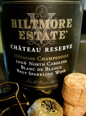Biltmore Estate Château Reserve Méthode Champenoise Blanc de Blancs - 2006 North Carolina