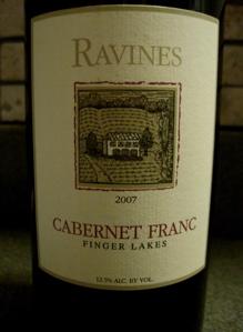 Ravines 2007 Cabernet Franc