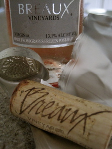 Breaux Vineyards 2008 Nebbiolo Ice