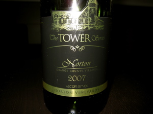 Horton Vineyards 2007 Norton (The Tower Series)