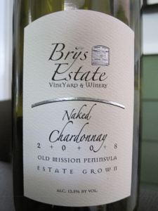 Brys Estate 2008 Naked Chardonnay