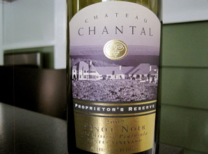 Chateau Chantal Proprietor's Reserve 2007 Pinot Noir, Pontes Vineyard