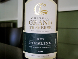 Chateau Grand Traverse 2008 Dry Riesling