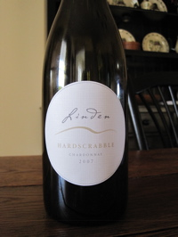 Linden Vineyards 2007 Hardscrabble Chardonnay