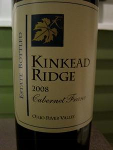 Kinkead Ridge 2008 Cabernet Franc