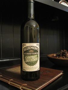 Bluemont Vineyard 2008 Cabernet Sauvignon