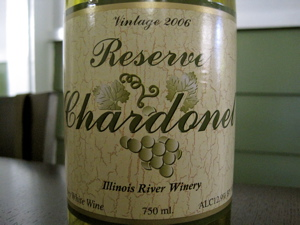 Illinois River Winery 2006 Reserve Chardonel