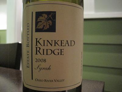 Kinkead Ridge 2008 Syrah