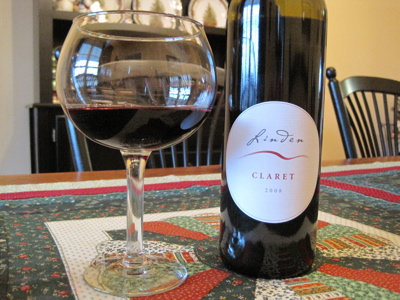 Linden Vineyards 2008 Claret