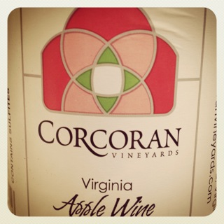 Corcoran Vineyards Virginia Apple Wine