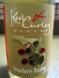 Keel & Curley Strawberry Riesling