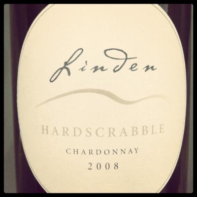 Linden Hardscrabble Chardonnay 2008