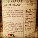 Millbrook Winery WineLabel