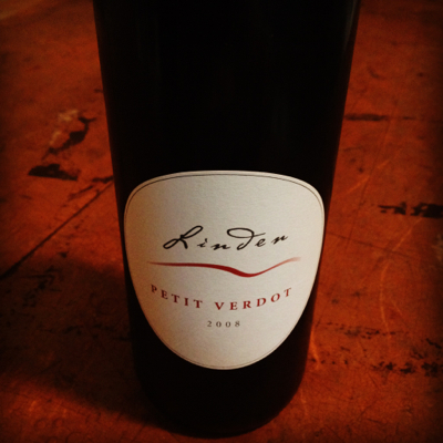 Linden Vineyards 2008 Petit Verdot