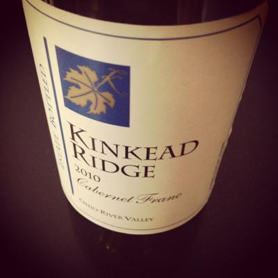 Kinkead Ridge 2010 Cabernet Franc