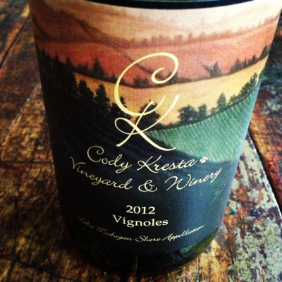 Cody Kresta Vineyard & Winery 2012 Vignoles