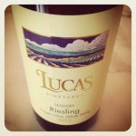 Lucas Vineyards 2012 Semi-Dry Riesling