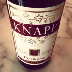 Knapp Winery 2012 Dry Riesling